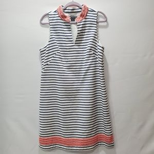 Jessica Howard Blue Striped Dress Size 12 P125